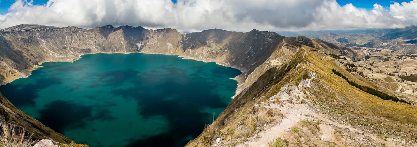Quilotoa-vulkaan