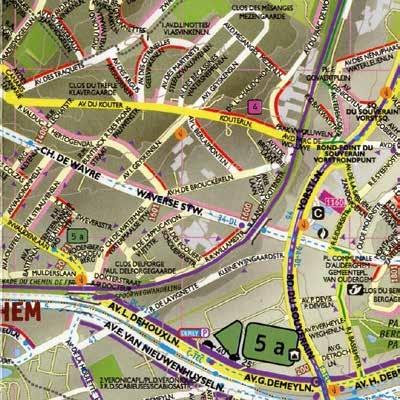 fietskaart Brussel