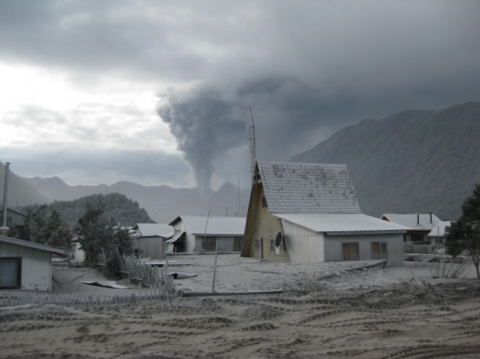 uitbarsting Chaitén