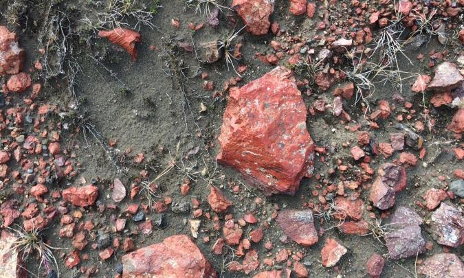 rode steen IJsland